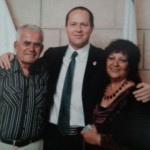 Esther & Benny with Nir Barkat